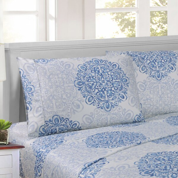 Patric 300 Thread Count 100% Cotton Sheet Set by The Twillery Co.